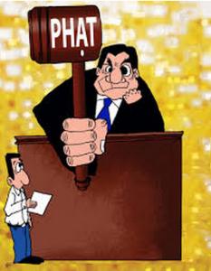 quy định về xử phạt
