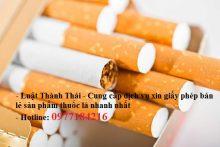 Quyền và nghĩa vụ của thương nhân kinh doanh bán lẻ thuốc lá