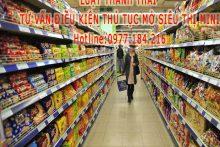 Điều kiện mở siêu thị mini như thế nào?