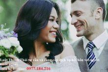 Thủ tục kết hôn với người nước ngoài mới nhất
