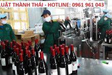 Xử phạt khi thương nhân sử dụng giấy phép kinh doanh rượu hết hạn
