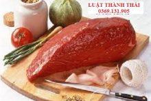 Điều kiện an toàn thực phẩm đối với cơ sở kinh doanh thịt tại chợ truyền thống