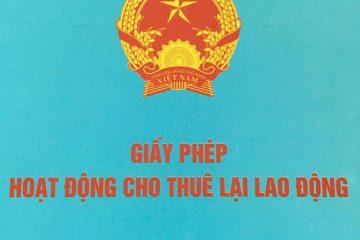 Dịch vụ cấp giấy phép cho thuê lại lao động tại Thái Nguyên