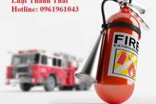 Nghiệm thu phòng cháy và chữa cháy