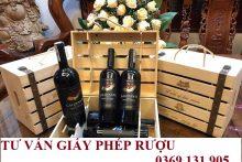 Hướng dẫn thủ tục nhập khẩu mẫu rượu về làm công bố