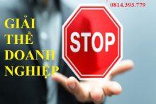 Cần chuẩn bị hồ sơ gì để giải thể doanh nghiệp tại huyện Thạch Thất