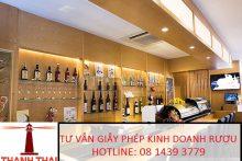 Điều kiện xin Giấy phép rượu tiêu dùng tại chỗ ở quận Long Biên