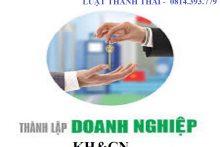 Thành lập doanh nghiệp khoa học công nghệ tại Hà Nội