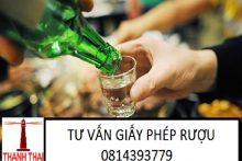 Dịch vụ xin cấp Giấy phép rượu tiêu dùng tại chỗ tại các huyện thuộc thành phố Hà Nội