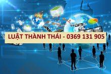 Quy trình thành lập công ty có vốn đầu tư Trung Quốc tại Việt Nam