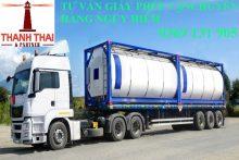Danh mục hàng công nghiệp nguy hiểm phải đóng gói trong quá trình vận chuyển