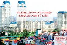Hướng dẫn thủ tục thành lập doanh nghiệp tại quận Nam Từ Liêm