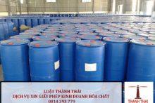 Thủ tục điều chỉnh giấy chứng nhận kinh doanh hóa chất có điều kiện trong lĩnh vực công nghiệp