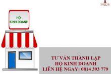 Dịch vụ Thành lập hộ kinh doanh trọn gói tại Luật Thành Thái